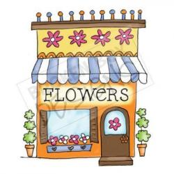 Drawn shop florist shop