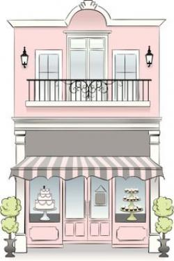 Drawn store pastry shop