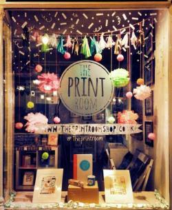 Drawn shop shop window