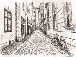 Drawn street