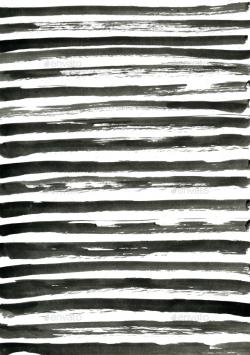 Drawn stripe hand drawn