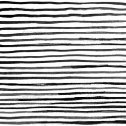 Drawn stripe black and white