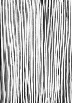 Drawn stripes ink