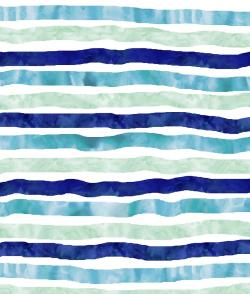 Drawn stripe watercolor