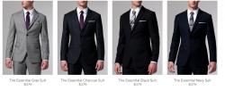Drawn suit custom