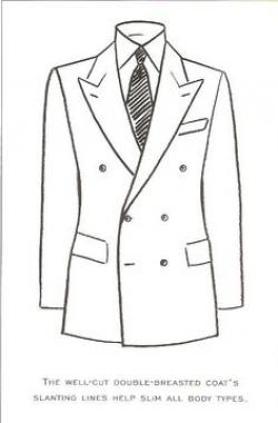 Drawn suit suit jacket