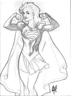 Drawn superman adam hughes