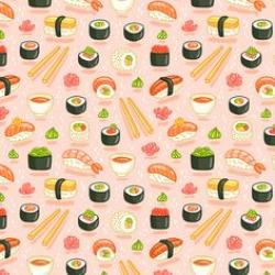 Drawn sushi pinterest