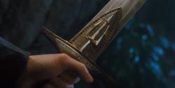 Drawn sword percy jackson