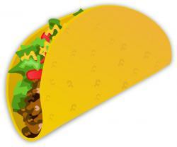 Drawn tacos emojis