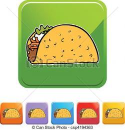 Drawn tacos fancy