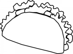Drawn tacos clipart