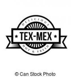 Drawn taco tex mex