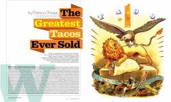 Drawn tacos world biggest