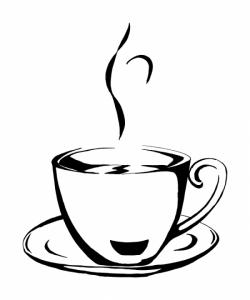 Drawn mug vector