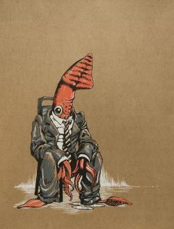 Drawn tentacle diva helmet