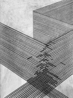 Drawn texture ruin