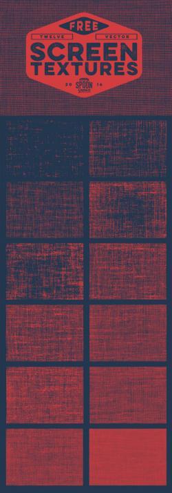 Dark Textures clipart screen print