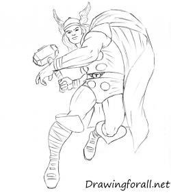Drawn thor