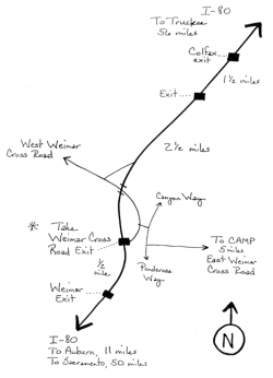 Drawn toad route