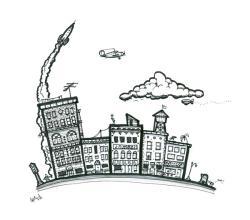 Drawn town