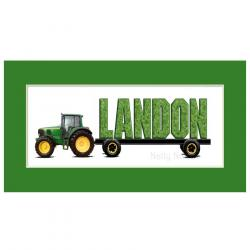 Drawn tractor baby john