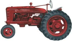 Drawn tractor international tractor