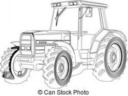 Drawn tractor traktor