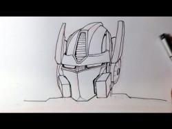 Drawn transformers Drawing Transformers Easy