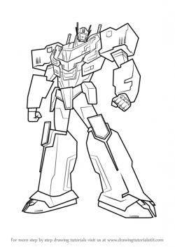 Drawn transformers Drawing Transformers Prime