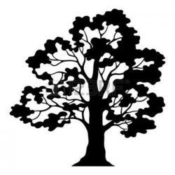 Barren clipart two tree