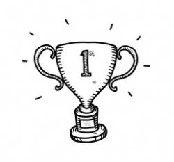 Drawn trophy