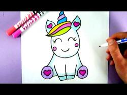 Drawn nutella unicorn