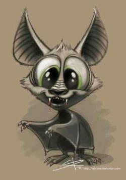 Drawn vampire cute cartoon