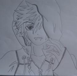 Drawn vampire vampire boy