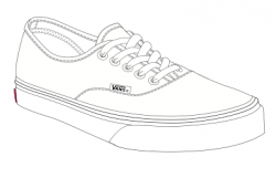 Drawn sneakers van