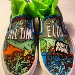 Drawn vans all time low