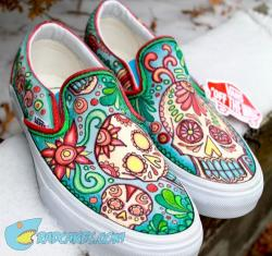 Drawn vans custom design