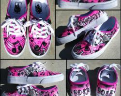 Drawn vans custom made