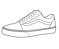 Converse clipart nike shoe