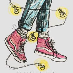 Drawn vans simple