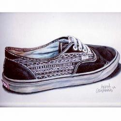 Drawn vans unique