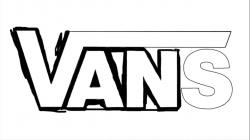 Drawn vans vans logo