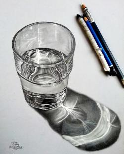 Drawn goggles still life
