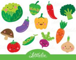 Vegetable clipart veggie
