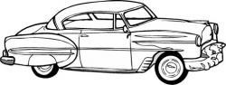 Drawn vehicle 50's