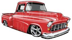 Truck clipart 1957 chevy