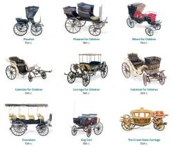 Horse-drawn Carriage clipart 19th century