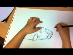Drawn car