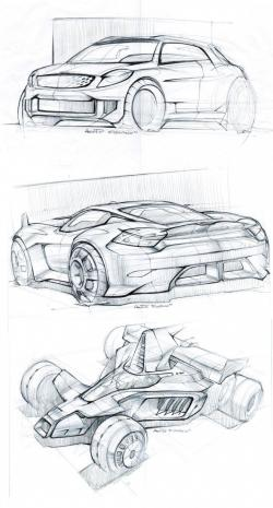 Drawn vehicle car design